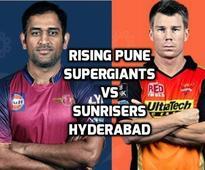 RPS vs SRH Live Score, IPL 2016: Sunrisers Hyderabad beat Pune Supergiants by 4 runs