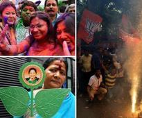 Live: Jayalalithaa, Mamata buck anti-incumbency; BJP wins in Assam