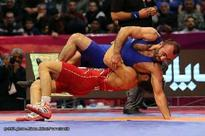 Iran claims Takhti wrestling cup title