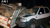 Chhattisgarh HM Ram Sevak Paikra injured in road accident
