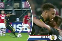 Chelsea youngster Lewis Baker scores incredible free kick for loan club Vitesse Arnhem