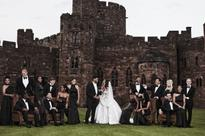 Ciara Harris and Russell Wilson wed on the 6th of July in Cheshire, United Kingdom
