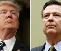 Donald Trump says former FBI director James Comey sought leverage against him with dossier