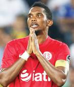 Samuel Eto'o Left Out By His Club Following His Racist Post