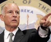 Jerry Brown Likens Climate Change to Nuclear War