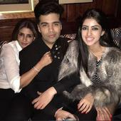 Karan Johar rings in his 44th birthday with SRK and his son Aryan in London
