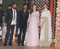 Celebrities at Isheta's pre-wedding party