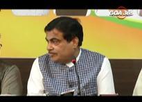 Gadkari hints at Parrikar coming back as CM