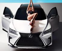 Throwback Thursday: S.I. Swimsuit Model Hailey Clauson Gets Cozy on a Lexus RX