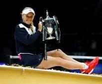 Wozniacki ends Williams jinx to win WTA Finals