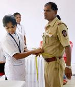 Mumbai Police get their 'hearts' checked on World Health Day