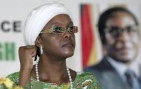 Zimbabwe suffers drought, Grace Mugabe hands out raincoats