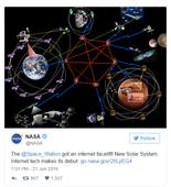 NASA is bringing Internet to the entire solar system