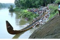 Snakeboat launched into the Pampa