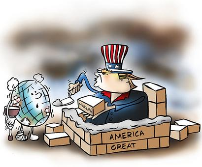 How Trump will 'deal' with the world :)