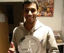Mahesh Mangaonkar breezes past Valantino Bong to enter quarter-finals of Squash XL open