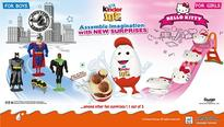 Kinder Joy partners with Sanrio and Warner Bros. Consumer Products