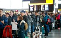 Snow causes chaos at Heathrow as British Airways flights are diverted 300 miles away to Newcastle