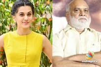Taapsee opens up on Raghavendra Rao controversy