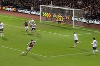 West Ham Player Scores A Sick Curling Goal Against Manchester United