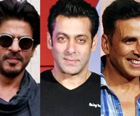 Shah Rukh Khan, Salman Khan, Akshay Kumar in Forbes highest paid actors list for the 3rd time