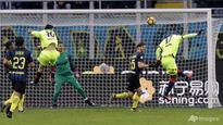 Football: Candreva fires Inter Milan into Italian Cup quarters