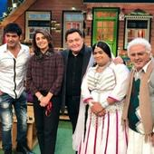 The Kapil Sharma Show: Rishi Kapoor REVEALS he'll enact episodes from his book 'Khullam Khulla' on stage