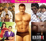 Salman Khan's Sultan, Aamir Khan's Dangal poster, Shah Rukh Khan's next with Anushka Sharma  Meet the top 5 newsmakers of the week!