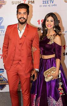 PIX: Suyyash-Kishwer attend Zee Rishtey awards