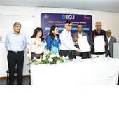 IIGJ signs MoU with Welingkar Institute for a first of its kind management courses in gems and jewellery