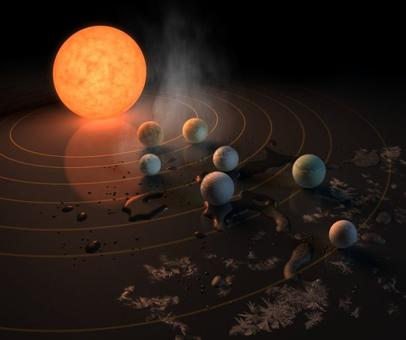 NASA finds 7 Earth-seized planets outside solar system
