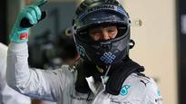 Nico Rosberg takes pole position in Abu Dhabi