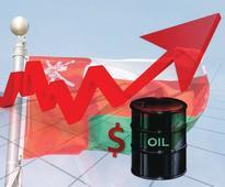 Oman oil price rises 14 cents