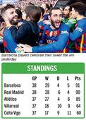 Barca all the way
