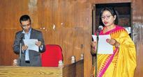 Newly elected IMC Corporators take oath