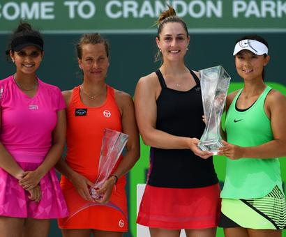 Sania-Strycova stunned by unseeded Dabrowski-Yifan in Miami Open final
