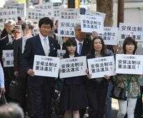 Over 700 people sue state over Japan's security laws