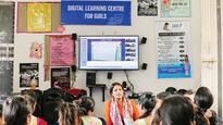 NGO brings digital education to underprivileged girls