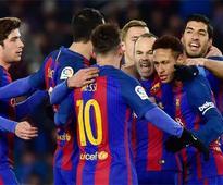 King's Cup: Barcelona end Sociedad hoodoo
