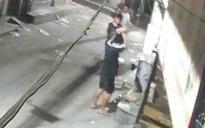 Delhi brutes seen on CCTV camera bludgeoning sleeping dog to death