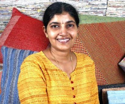 A weaver's daughter's zero-waste idea to save Planet Earth
