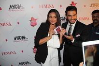 Ranveer Singh, Sonakshi Sinha, Athiya Shetty, Sunny Leone at Nykaa.com Femina Beauty Awards 2016