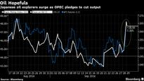 Japan Oil Stocks Lead Topix Higher as OPEC Moves to Cut Output
