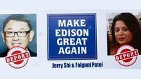 Indian and Chinese American targeted in racial flyer elected to Edison school board in US