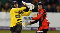 Taylor blows spoils Sussex's Eastbourne return