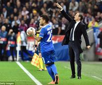 Juventus boss Massimiliano Allegri praises Gianluigi Buffon after Lyon win