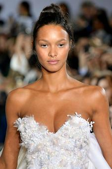 In pix: Lais Ribeiro looked every inch the model bride in white