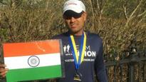What's your excuse? Sagar Baheti, visually-impaired Indian completes Boston Marathon