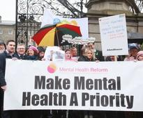 Mental Health Budget Protests