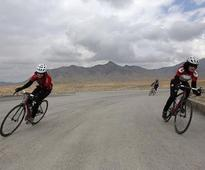 Female Afghan cyclists push boundaries one wheelie at a time